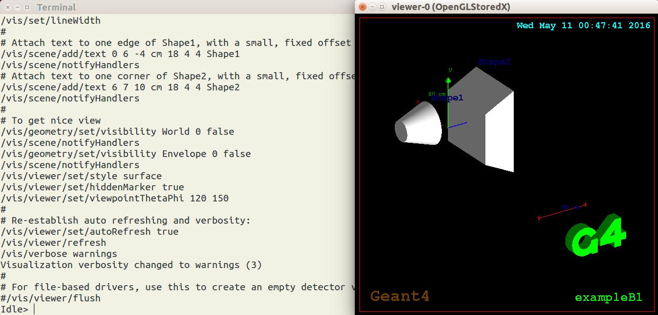 Install GEAN4 Instruction