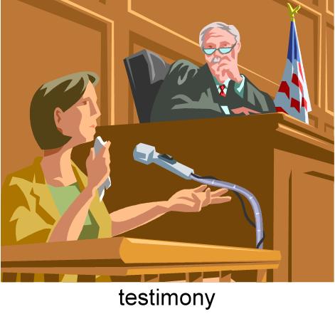 testimony-witness