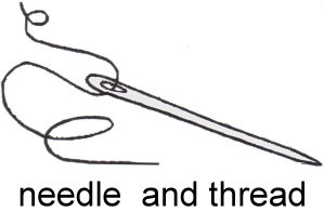 Threaded Needle